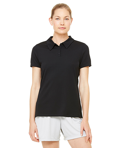 Alo W1709 Women Performance ThreeButton Mesh Polo at GotApparel