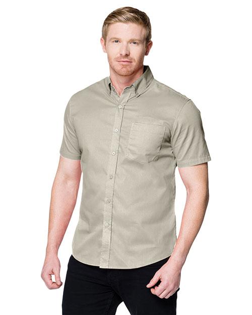 Tri-Mountain W700SS Men Regal Button-Down Short-Sleeve Shirt at GotApparel