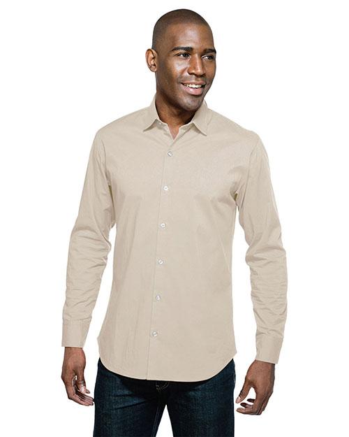 Tri-Mountain W743LS Men Greyson Long-Sleeve Woven Shirt at GotApparel