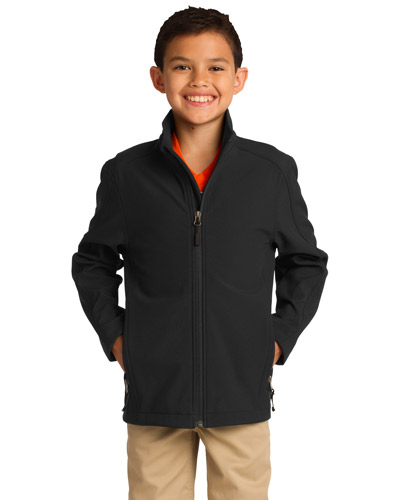 Port Authority Y317 Boys Core Soft Shell Jacket at GotApparel