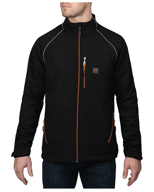 Walls Outdoor YJ740 Men Storm Protector Solid Soft Shell Jacket at GotApparel