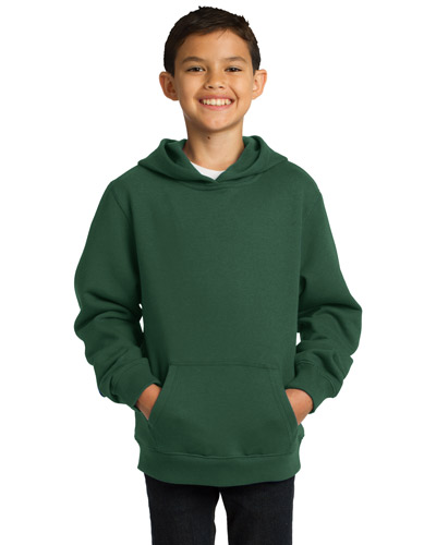 Sport-Tek® YST254 Boys Pullover Hooded Sweatshirt at GotApparel