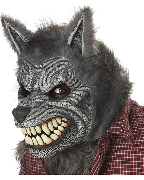 Halloween Costumes CC60305 Unisex Werewolf Mask Ani-Motion at GotApparel