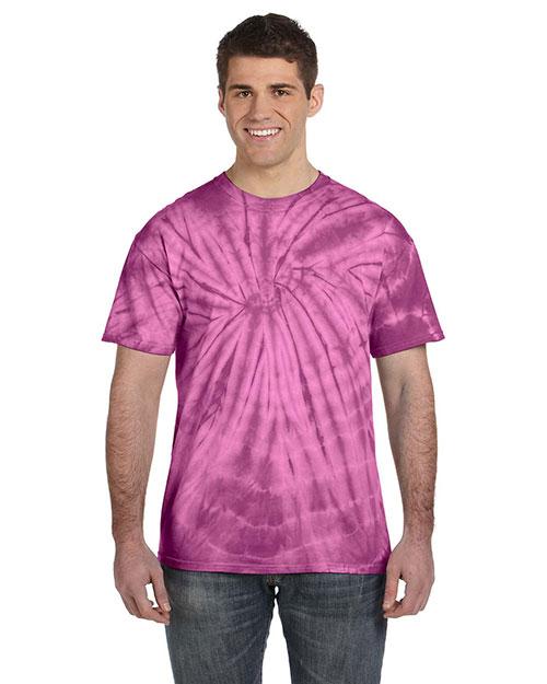 Tie-Dye CD101 Men 5.4 Oz. 100% Cotton Tie-Dyed T-Shirt at GotApparel