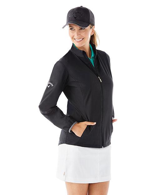 Callaway CGW585 Women Ladies' Full Zip Wind Jacket at GotApparel