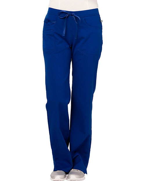 Code Happy CH000AP Women Mid Rise Moderate Flare Leg Pant Petite at GotApparel