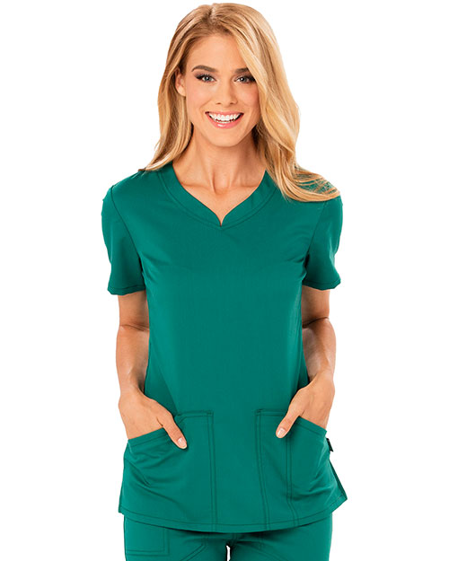 Code Happy CH602A Women V-Neck Top at GotApparel