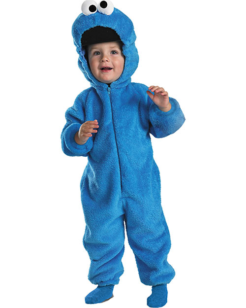 Halloween Costumes DG6598S Toddler Morris  Cookie Monster Deluxe 2t at GotApparel
