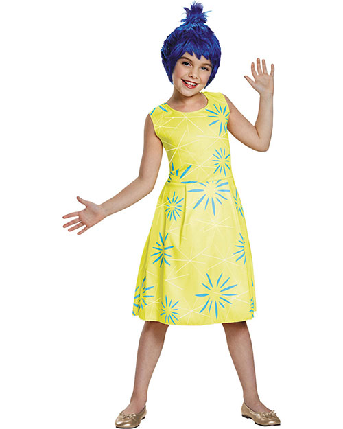 Halloween Costumes DG86937K Girls Joy Classic Child 7-8 at GotApparel