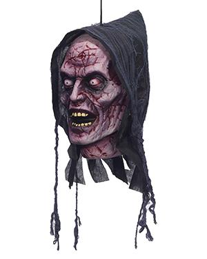 Halloween Costumes FM72886 Unisex Ghost Poly Foam Head at GotApparel
