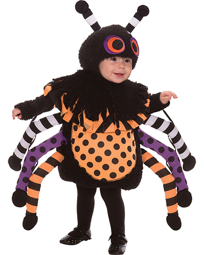 Halloween Costumes LF1293TS Toddler Toddlers Spider 1-2t at GotApparel