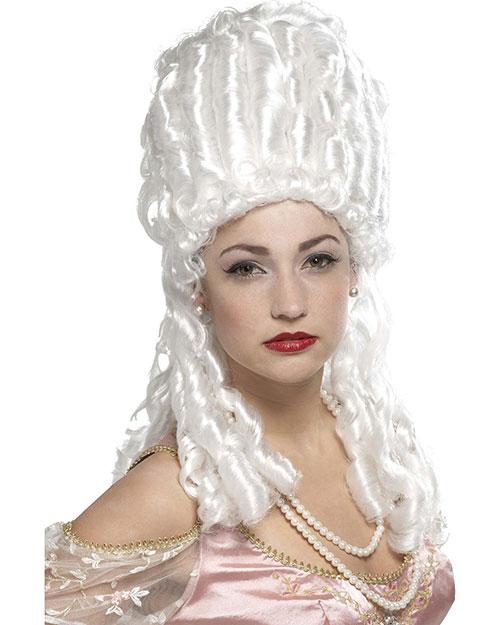 Halloween Costumes MR179510 Unisex Wig Marie Antoinette Platinum at GotApparel