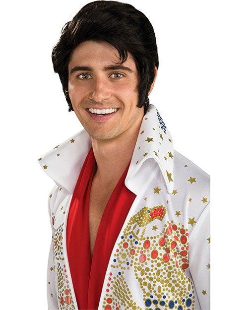 Halloween Costumes RU51789 Unisex Elvis Wig at GotApparel