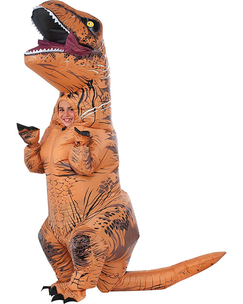 Halloween Costumes RU610821 Boys T Rex Inflatable Child at GotApparel