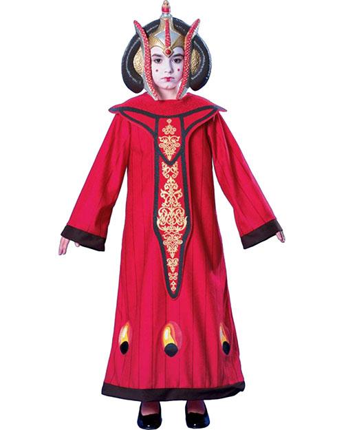 Halloween Costumes RU883316MD Girls Morris  Queen Amidala Child Medium at GotApparel
