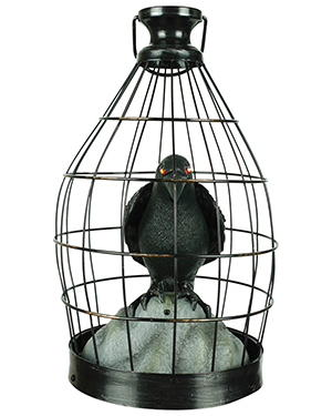 Halloween Costumes SS50448G Unisex Crow In Cage Animated at GotApparel