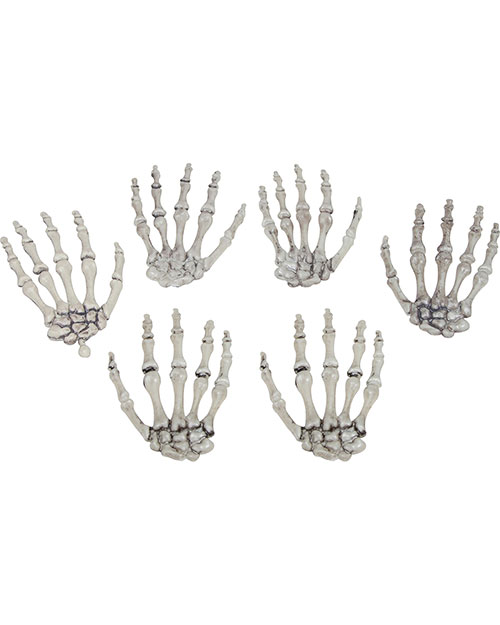 Halloween Costumes SS88534 Unisex Skeleton Hands at GotApparel