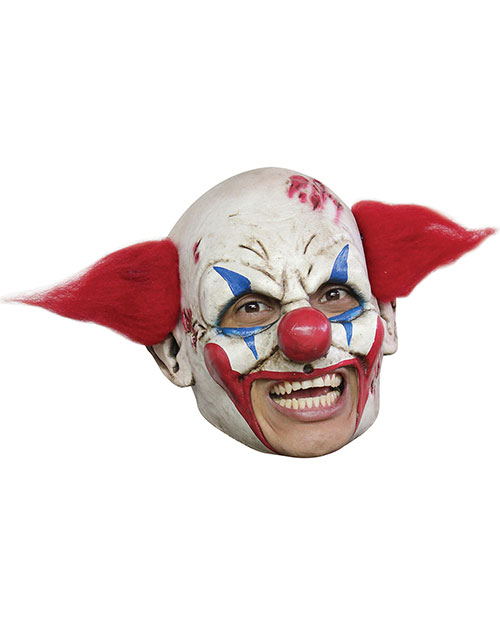 Halloween Costumes TB27530 Unisex Clown Dlx Chinless Mask Red Ha at GotApparel
