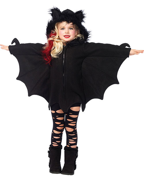 Halloween Costumes UAC49100SM Girls Morris  Bat Cozy Child Small at GotApparel