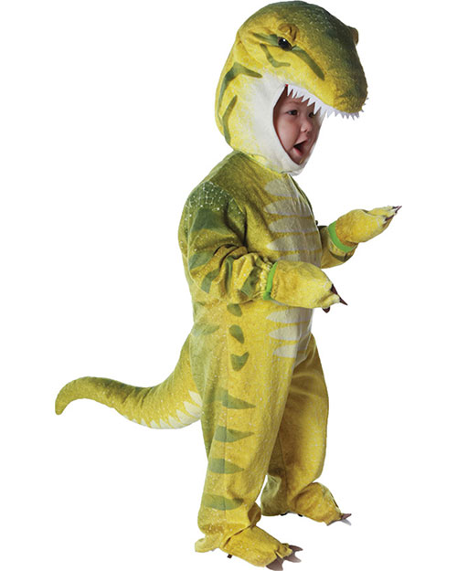 Halloween Costumes UR26026TLG Toddler T Rex Green 2-4 at GotApparel