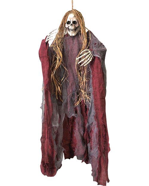 Halloween Costumes VA817 Unisex Hanging Prop With Hair Medium at GotApparel