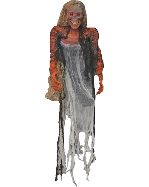 Halloween Costumes VA818 Unisex Hanging Prop With Hair Small at GotApparel