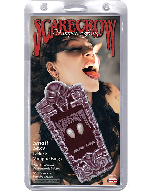 Halloween Costumes VA896 Women Fangs Sexy Small Scarecrow at GotApparel