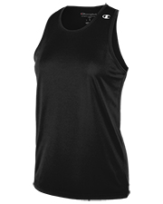 Champion 0018TL women  Solid Track Singlet at GotApparel