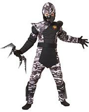 California Costumes 00341 Boys Arctic Forces Ninja / Child at GotApparel