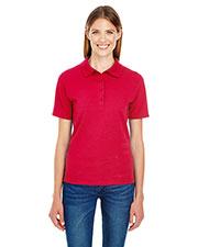 Hanes 035P Women 6.5 oz. X-Temp® Piqué Short-Sleeve Polo with Fresh IQ at GotApparel