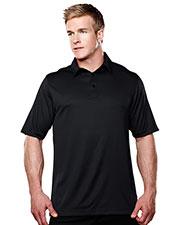 TM Performance 038 Men's Spades Short-Sleeve Knit Polo Shirts at GotApparel