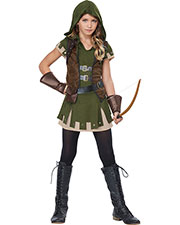 California Costumes 04091 Girls Miss Robin Hood / Tween at GotApparel