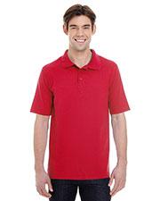 Hanes 055P Men 6.5 oz. X-Temp® Piqué Short-Sleeve Polo with Fresh IQ at GotApparel