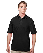 Tri-Mountain 095 Men Elet Easy Care Short-Sleeve Pique Golf Shirt at GotApparel