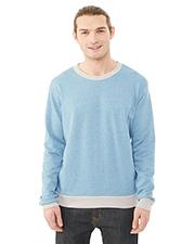 Custom Embroidered Alternative Apparel 09898E Men 6.35 oz. Champ Eco-Mock Twist Ringer Sweatshirt at GotApparel
