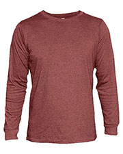 Zuni Sportswear 1006 Men Cvc Long Sleeve Crew Neck Tee at GotApparel