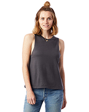 Custom Embroidered Alternative Apparel 1016CG Ladies 5 oz. Heavy Wash Muscle Tank at GotApparel