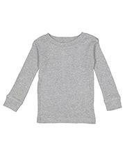 Rabbit Skins 101Z Infant 5.0 oz Long-Sleeve Pajama Top at GotApparel