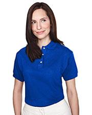 Tri-Mountain 102 Women Contour Short-Sleeve Pique Golf Shirt at GotApparel