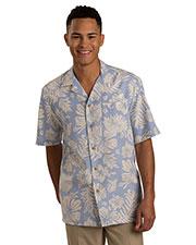 Edwards 1036 Men Tropical Hibiscus Camp Shirt at GotApparel