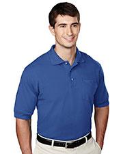 Tri-Mountain 106 Men Pique Pocketed Golf Shirt at GotApparel