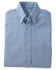 Edwards 1077 Men Button-Down Collar Oxford Dress Shirt at GotApparel