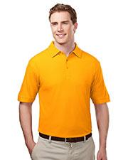 TM Performance 107 Men's Ultracool Waffle Knit Golf Shirt at GotApparel