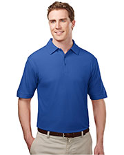TM Performance 107 Men's Ultracool Waffle Knit Golf Shirt at GotApparel