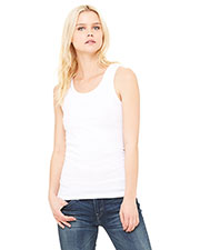 Bella + Canvas 1080 Women Baby Rib Tank Top at GotApparel