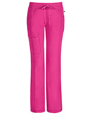 Cherokee 1123AP Women Low Rise Straight Leg Drawstring Pant at GotApparel