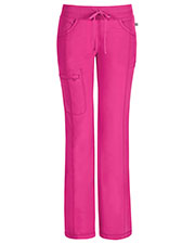 Cherokee 1123AT Women Low Rise Straight Leg Drawstring Pant at GotApparel