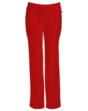 Cherokee 1123AT Women Low Rise Straight Leg Drawstring Pant at GotApparel