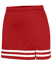Champion 1168BL women Slit Hem Skirt at GotApparel
