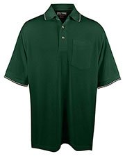 Tri-Mountain 117 Men Conquest Ultracool Mesh Pocketed Golf Shirt at GotApparel